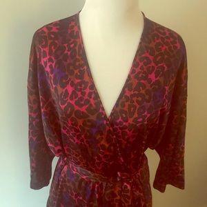 Vanity Fair vintage animal print robe